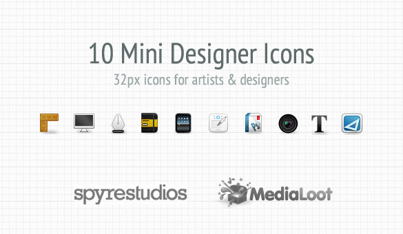 Mini Designer Icons