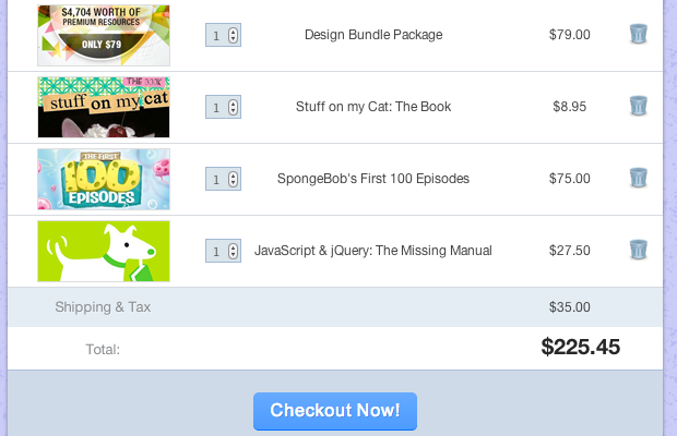 How To Code an HTML5/CSS3 Shopping Cart Webpage Layout