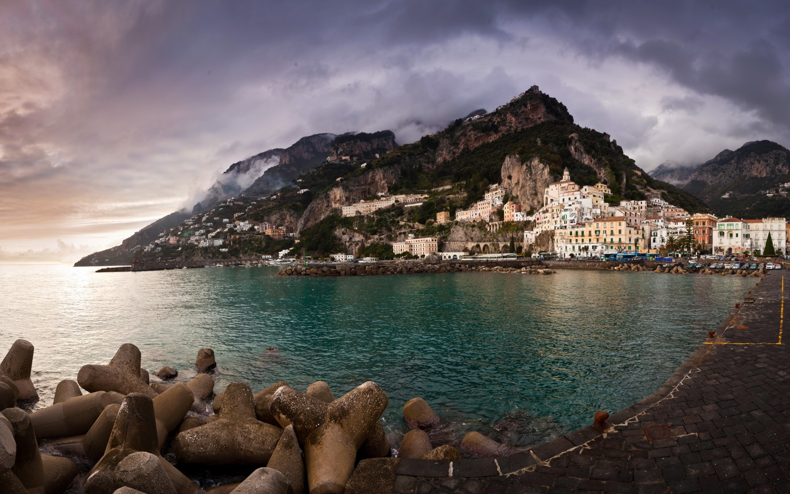 summer stock photos amalfi