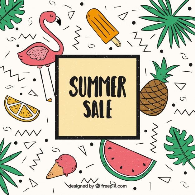 summer website themes summer sale background
