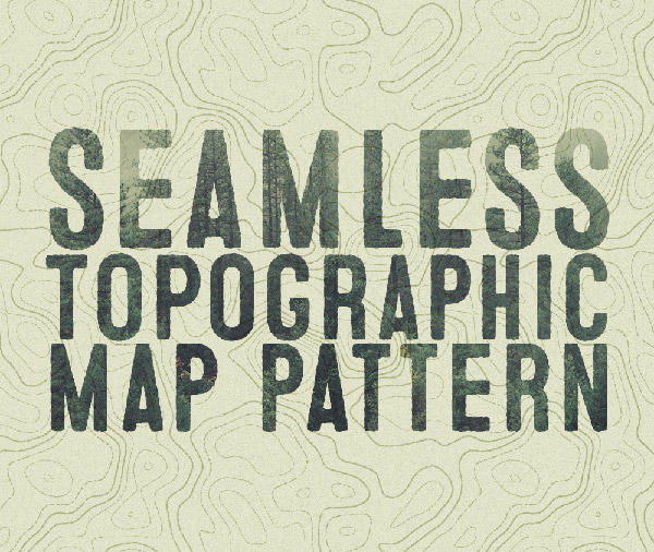 topographic-map-pattern