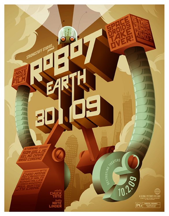 Robot Earth 3009