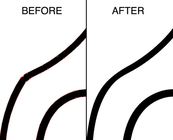 Drawing Smooth Lines In Java : How to design a hand drawn vector pattern using pencils
