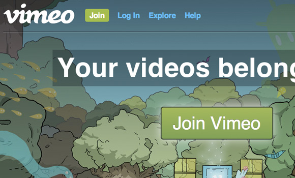 Alternative CSS3 button effects on Vimeo redesign