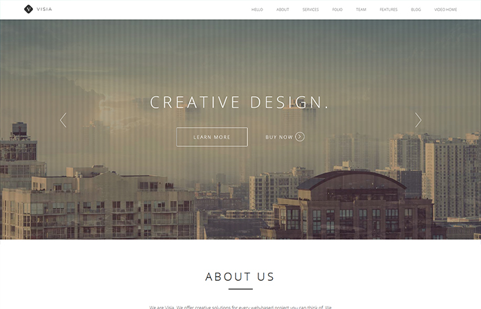 top one page wordpress themes