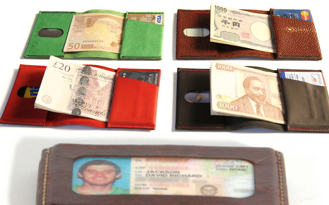 wrap tiny wallet pocket design kickstarter