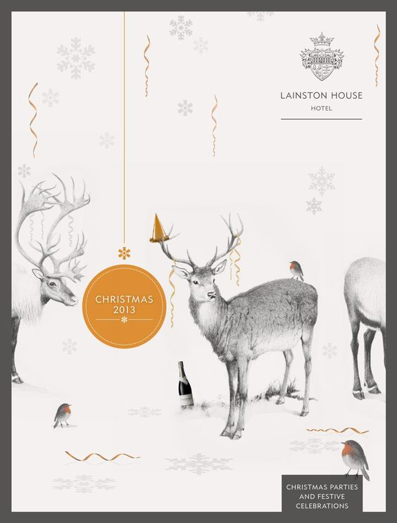 Minimalist Xmas Party invitation