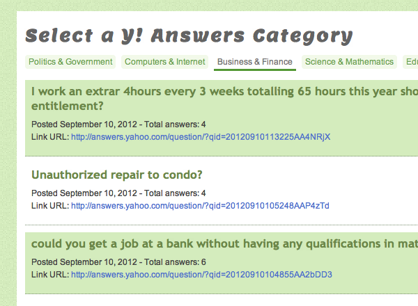 yahoo-answers-api-webapp-preview